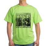 Abraham Lincoln Inauguration Green T-Shirt