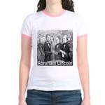 Abraham Lincoln Inauguration Jr. Ringer T-Shirt