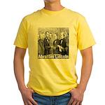 Abraham Lincoln Inauguration Yellow T-Shirt