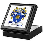 Gilchrist Family Crest Keepsake Box