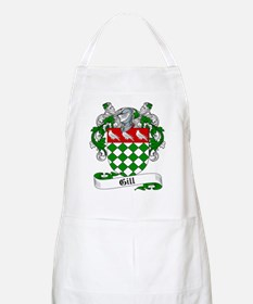 Gill Family Crest BBQ Apron