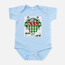 Gill Family Crest Infant Creeper