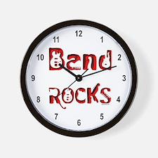 Band Rocks Wall Clock