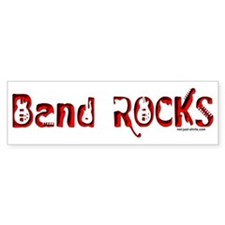 Band Rocks Bumper Bumper Sticker