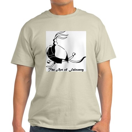 Falconry hood Ash Grey T-Shirt