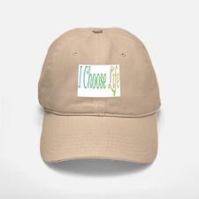 I Choose Life Baseball Baseball Cap