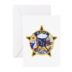 Alaska DPS Greeting Cards (Pk of 20)