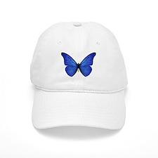 Blue Butterfly Baseball Cap