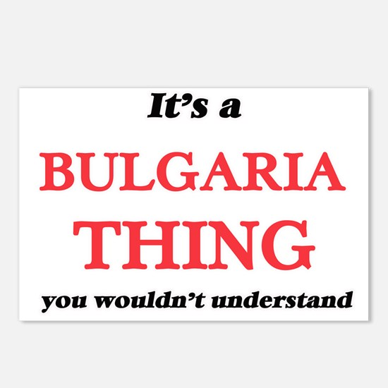 It's a Bulgaria thing Postcards (Package of 8)