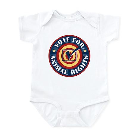 Vote for Animal Rights Infant Bodysuit