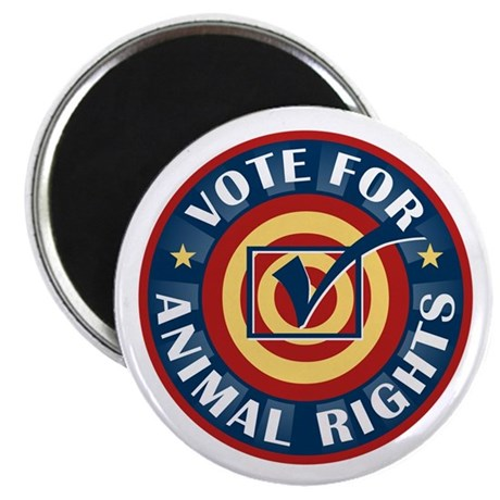 Vote for Animal Rights Magnet