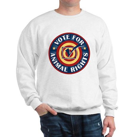Vote for Animal Rights Sweatshirt