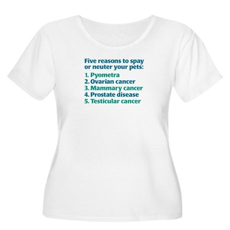 Five Reasons Women's Plus Size T-Shirt