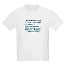 Five Reasons Kids T-Shirt