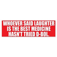 LAUGHTER Bumper Bumper Sticker