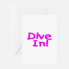 Dive In! Greeting Cards (Pk of 10)