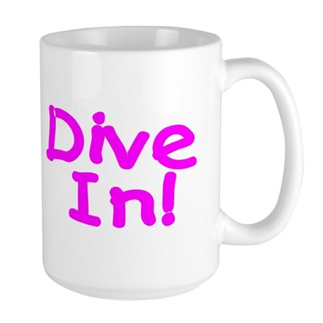 Dive In! Large Mug