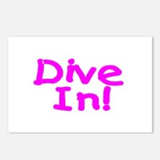 Dive In! Postcards (Package of 8)