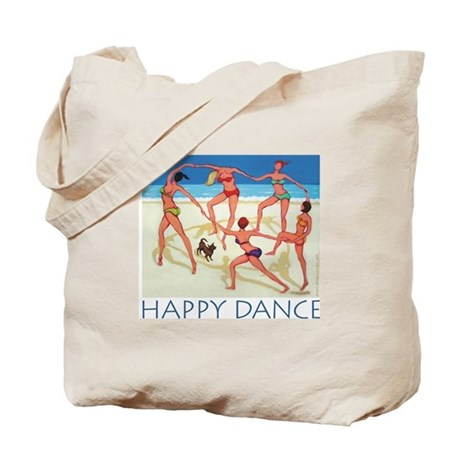 Happy Dance - Beach Tote Bag