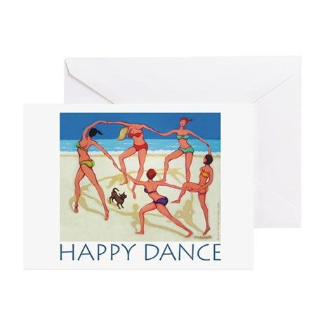 Happy Dance - Beach Greeting Cards (Pk of 10)