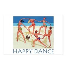 Happy Dance - Beach Postcards (Package of 8)