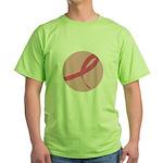Pink Ribbon Green T-Shirt