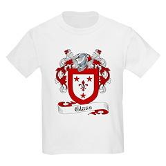Glass Family Crest Kids T-Shirt