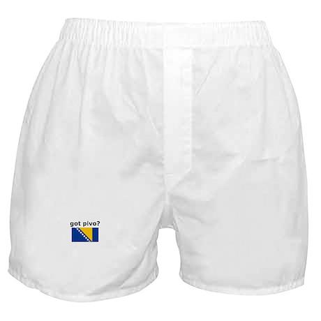 Bosnian - Got Pivo? Boxer Shorts
