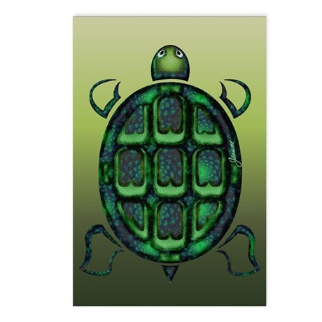 Tortuga Postcards (Package of 8)