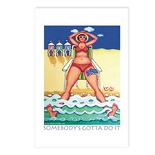Beach Research Postcards (Package of 8)
