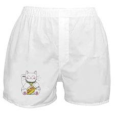 lucky Money Cat Boxer Shorts
