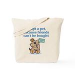 Adopt a Pet (Dog) Tote Bag