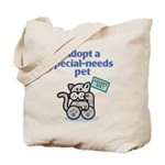 Special-Needs Pet (Cat) Tote Bag