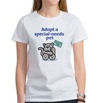 Special-Needs Pet (Cat) Women's T-Shirt