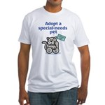 Special-Needs Pet (Cat) Fitted T-Shirt