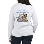 Don't Breed Women's Long Sleeve T-Shirt