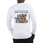 Don't Breed Long Sleeve T-Shirt