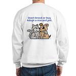 Don't Breed Sweatshirt