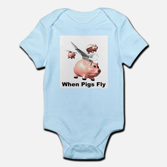 Flying Pigs Infant Creeper