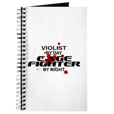 Violist Cage Fighter by Night Journal