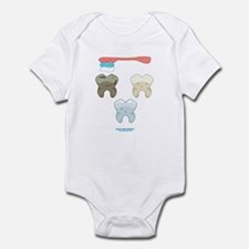 Kawaii Teeth Trio Infant Bodysuit