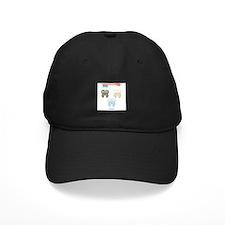 Kawaii Teeth Trio Baseball Hat