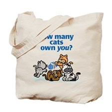 How Many Cats? Tote Bag