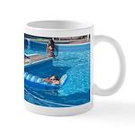 Girls at Pool Mug