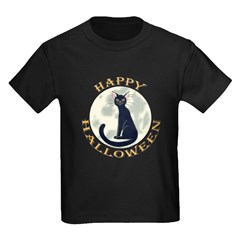 Halloween Black Cat T