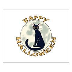 Halloween Black Cat Posters
