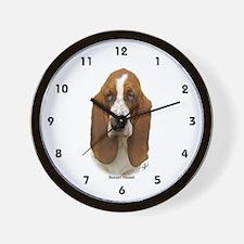 Basset Hound 9L9D-05 Wall Clock