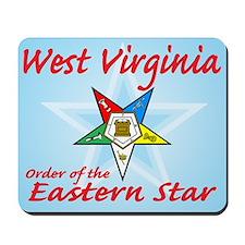 West Virginia Eastern Star Mousepad
