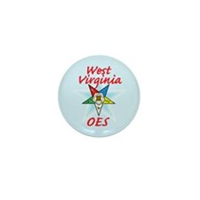 West Virginia Eastern Star Mini Button (100 pack)