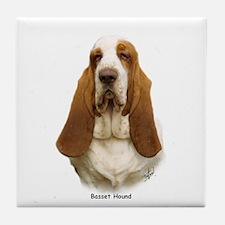 Basset Hound 9L9D-22 Tile Coaster